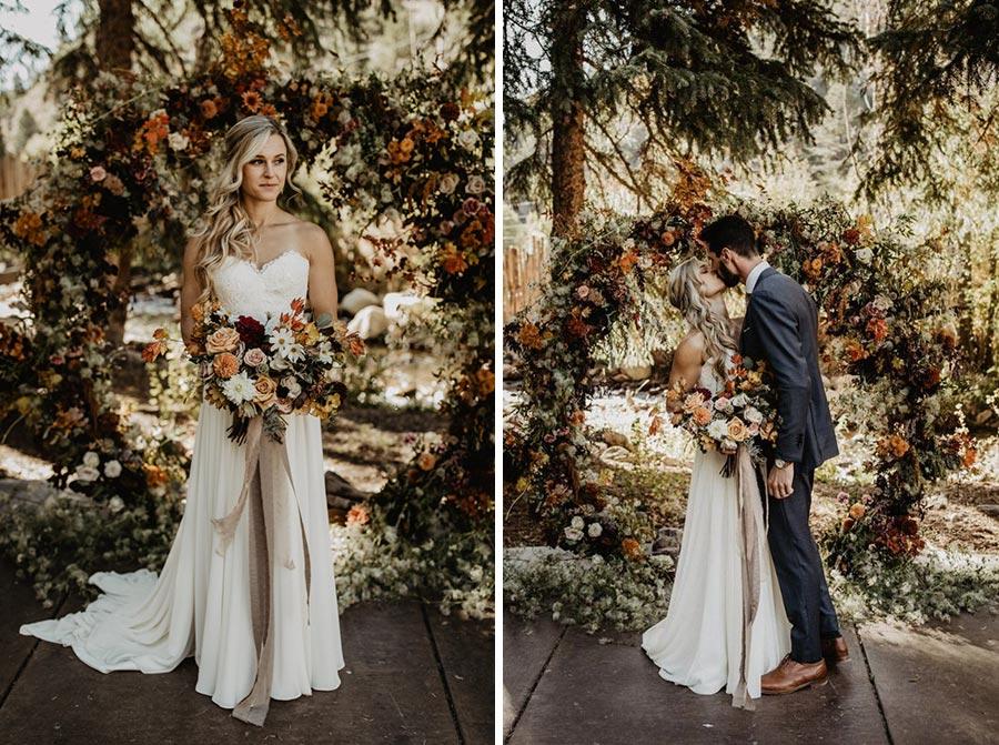 25 осенних свадебных арок 6