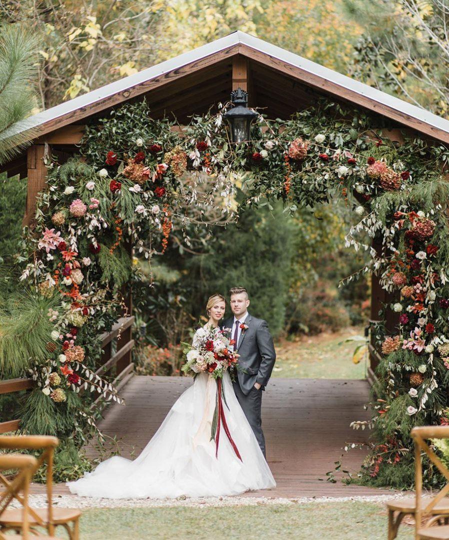 25 осенних свадебных арок 7