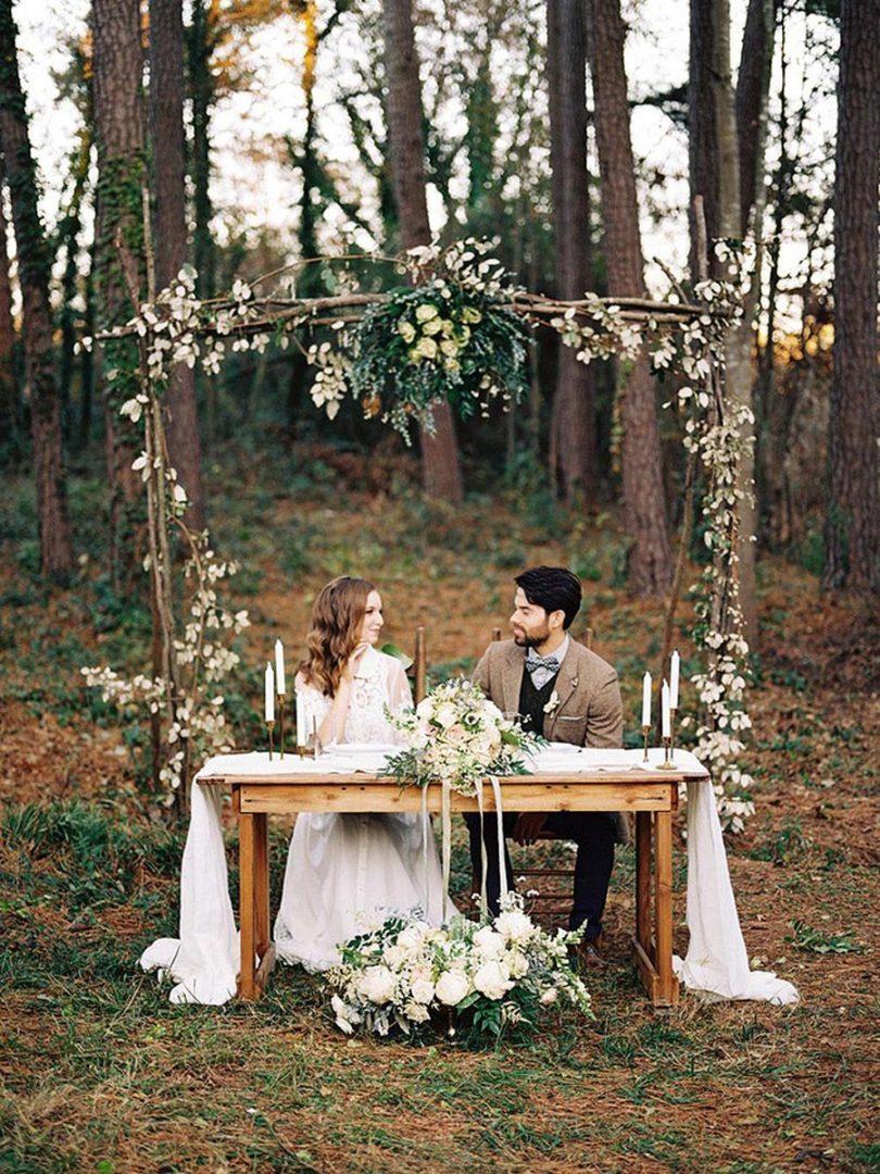 25 осенних свадебных арок 8