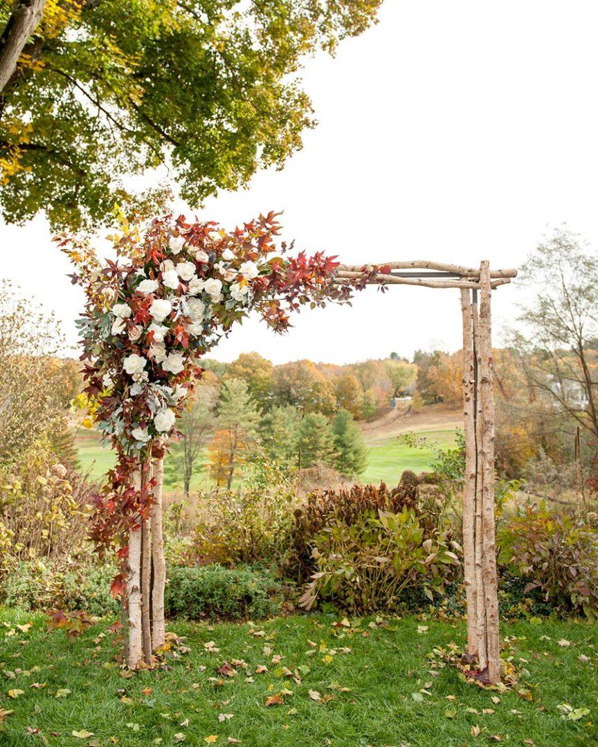 25 осенних свадебных арок 9