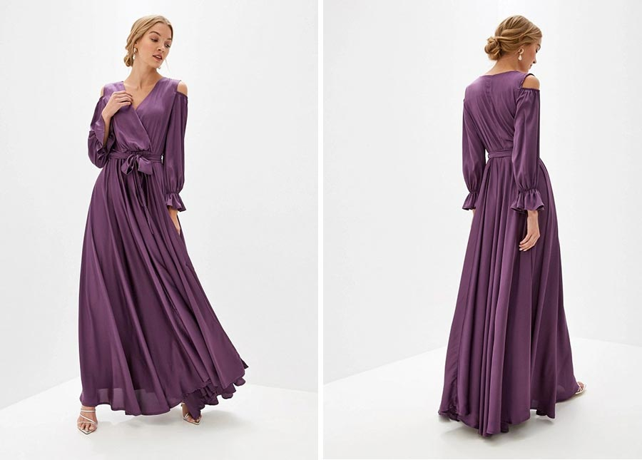 идем на осеннюю свадьбу 50 платьев для гостей 19