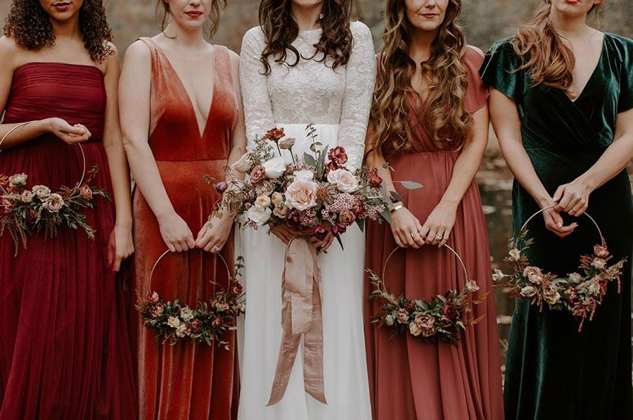 идем на осеннюю свадьбу 50 платьев для гостей 1