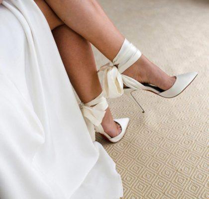 30 модных свадебных туфель для невесты