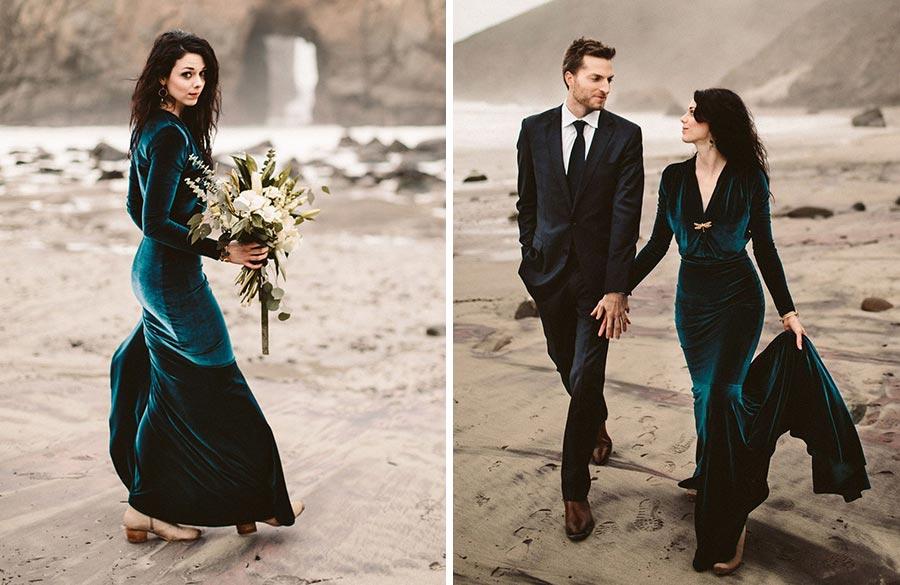 новый тренд бархат на свадьбе 2