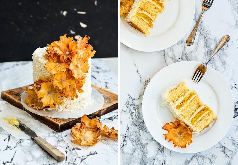 осенний свадебный торт начинки и декор 7