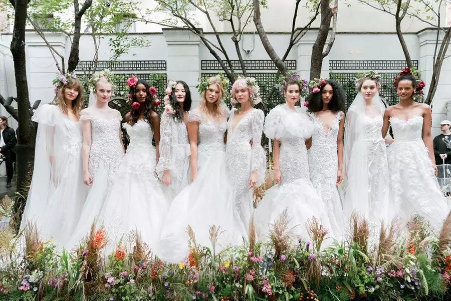 модные свадебные прически 2020 10