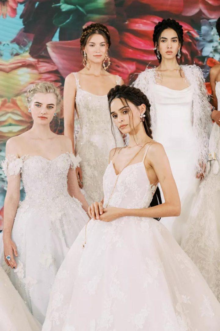 модные свадебные прически 2020 5