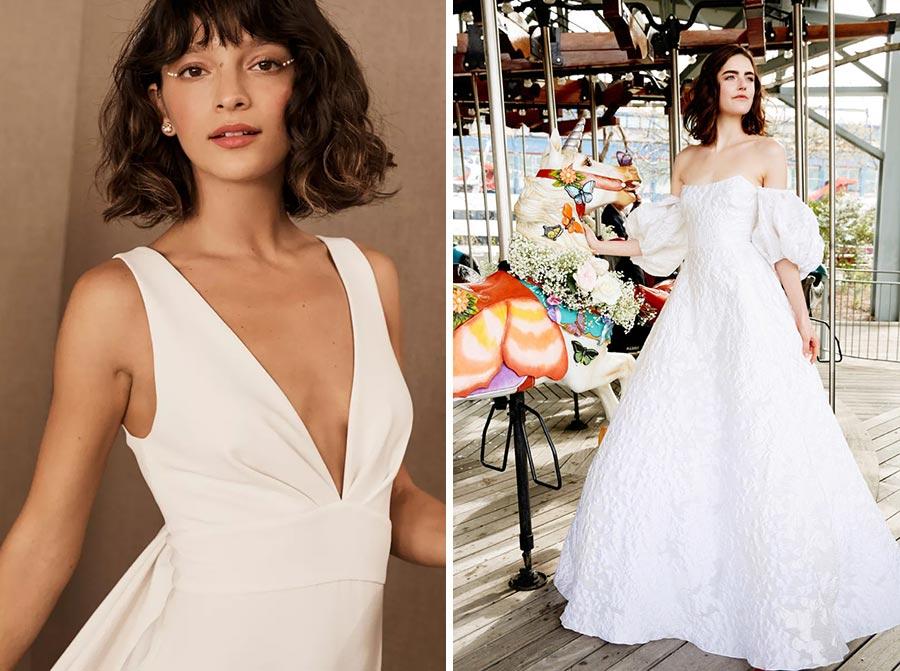 модные свадебные прически 2020 6
