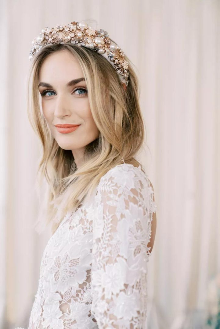модные свадебные прически 2020 7