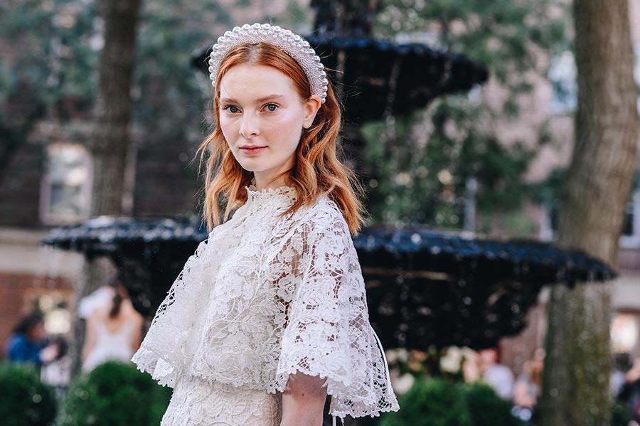 модные свадебные прически 2020 8