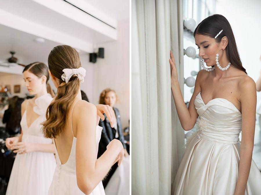 модные свадебные прически 2020 9