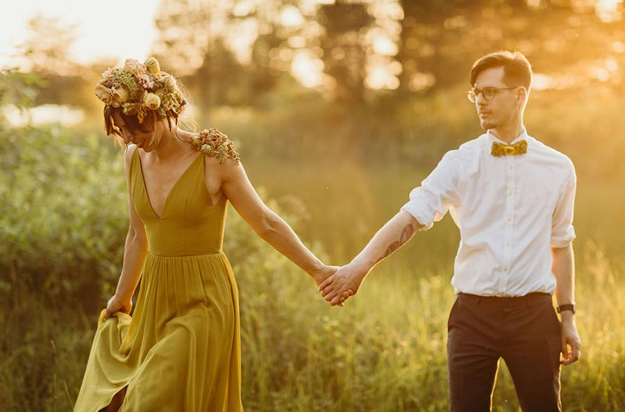 50 потрясающих поз для свадебной фотосессии 14