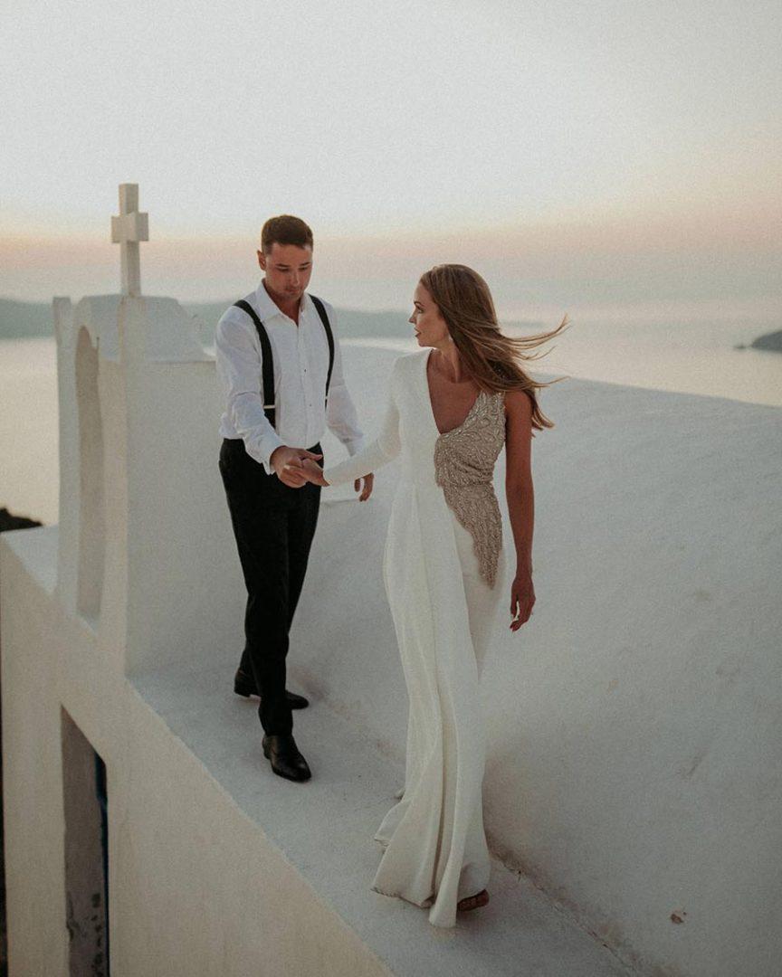 50 потрясающих поз для свадебной фотосессии 18