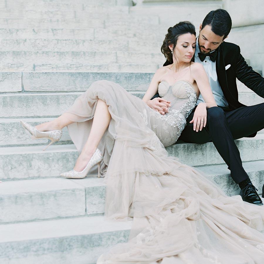 50 потрясающих поз для свадебной фотосессии 1