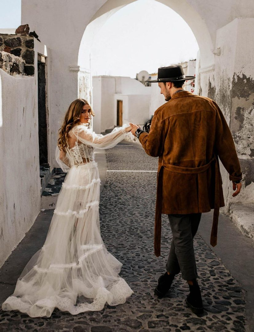 50 потрясающих поз для свадебной фотосессии 20