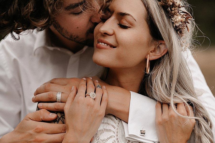 50 потрясающих поз для свадебной фотосессии 24