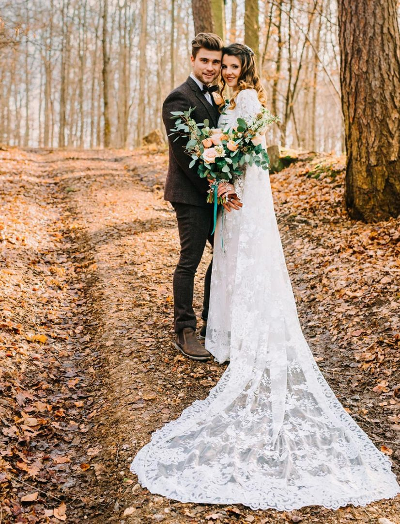 50 потрясающих поз для свадебной фотосессии 3