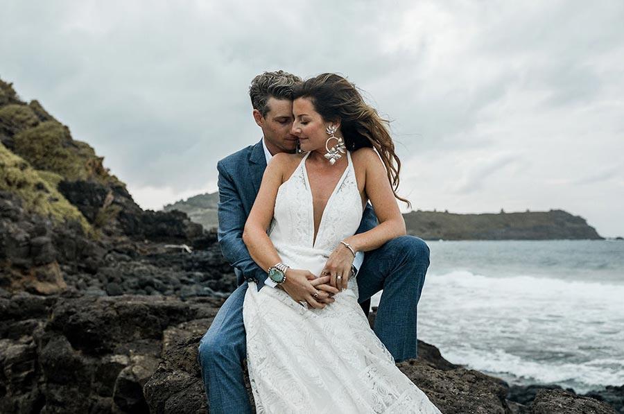 50 потрясающих поз для свадебной фотосессии 35