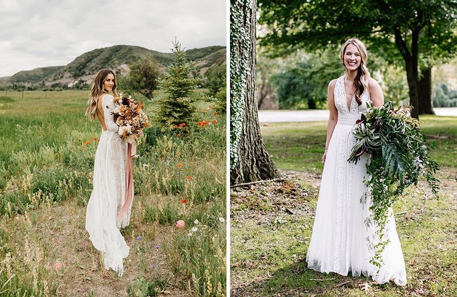 50 потрясающих поз для свадебной фотосессии 37