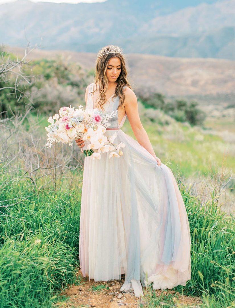 50 потрясающих поз для свадебной фотосессии 38