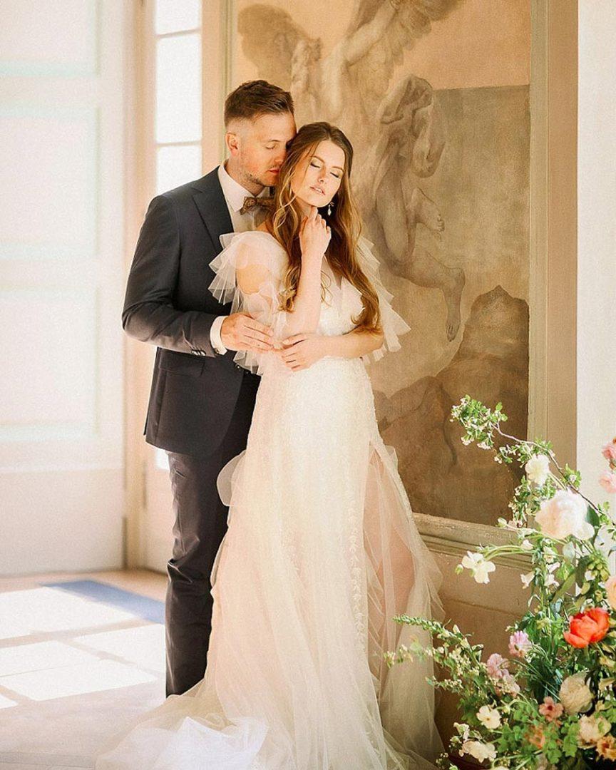 50 потрясающих поз для свадебной фотосессии 4