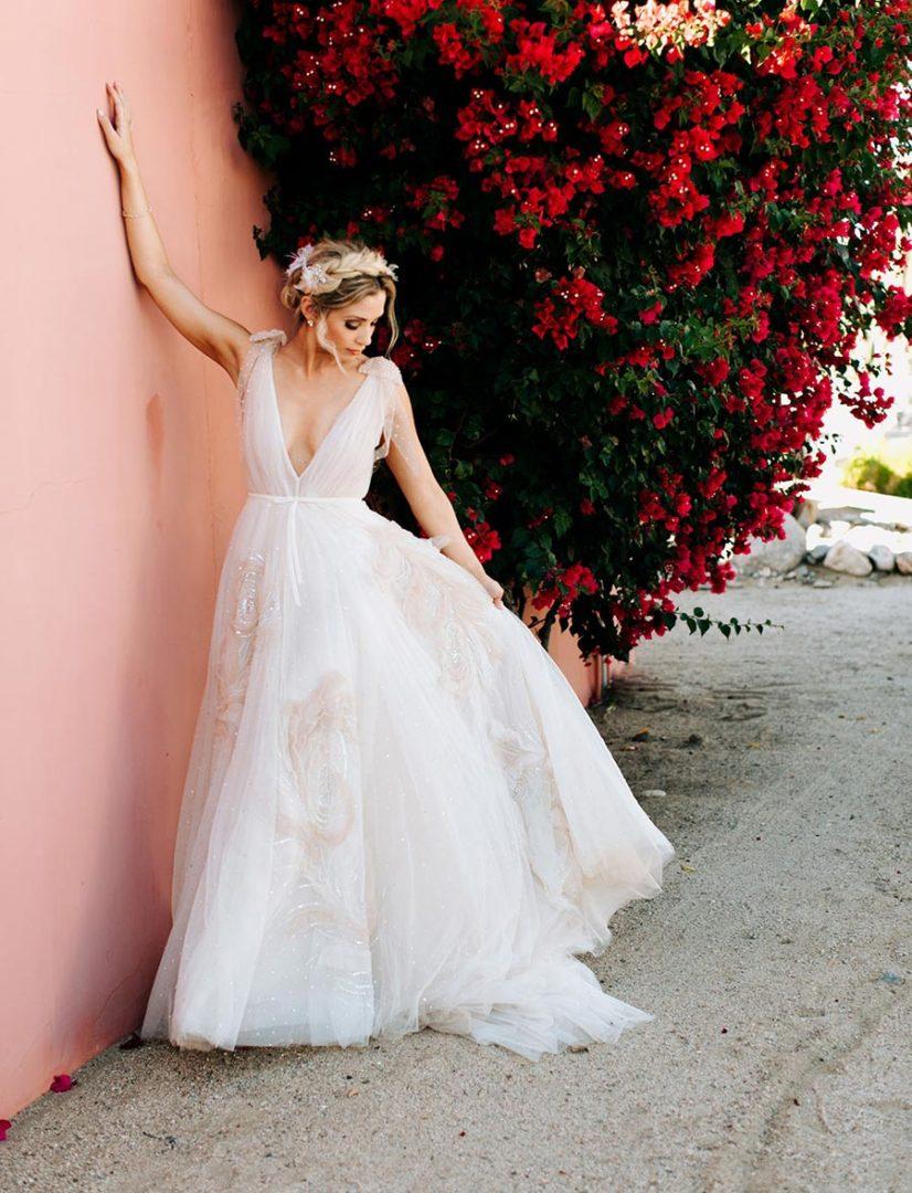 50 потрясающих поз для свадебной фотосессии 40