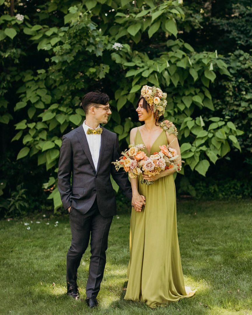 50 потрясающих поз для свадебной фотосессии 5