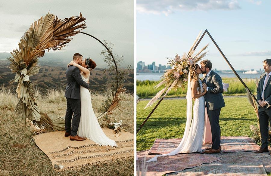 50 потрясающих поз для свадебной фотосессии 8
