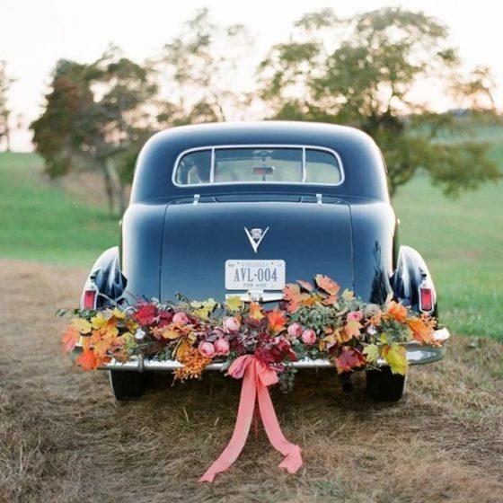 10 способов украсить машину на свадьбу своими руками