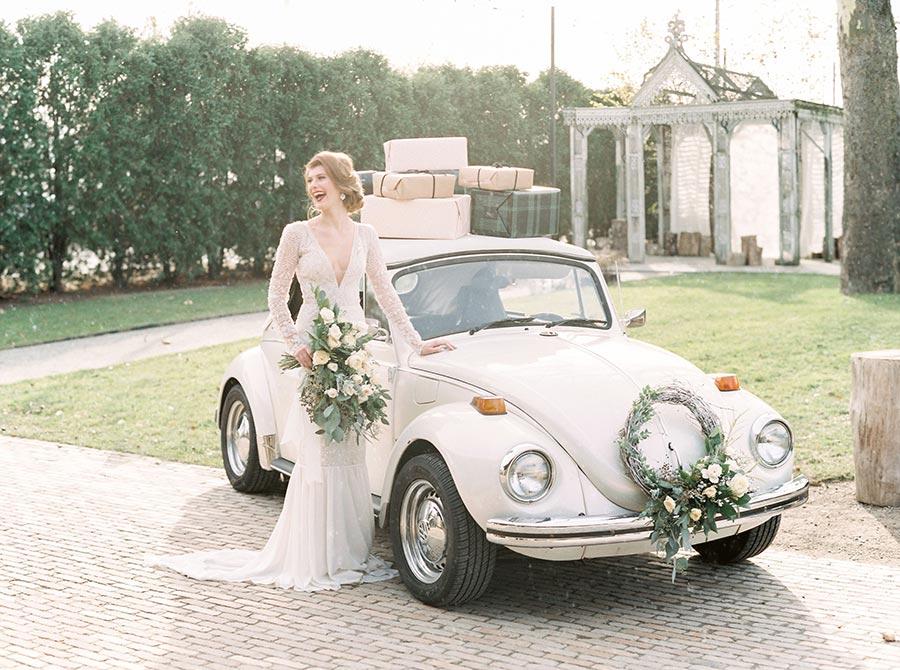 10 способов украсить машину на свадьбу своими руками 10