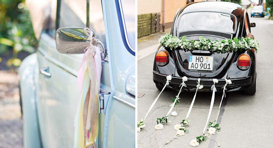 10 способов украсить машину на свадьбу своими руками 2