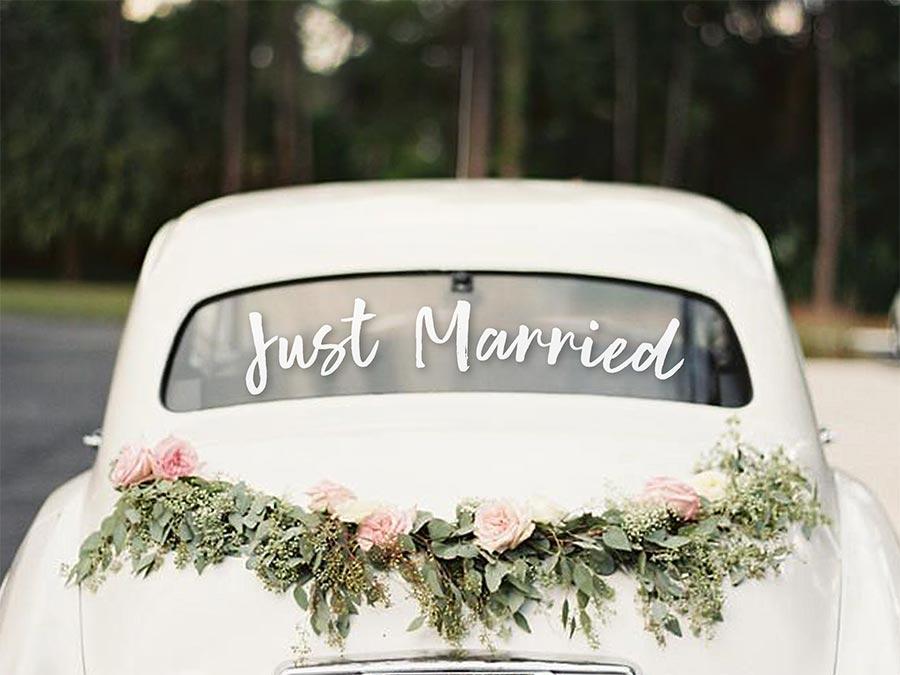 10 способов украсить машину на свадьбу своими руками 7