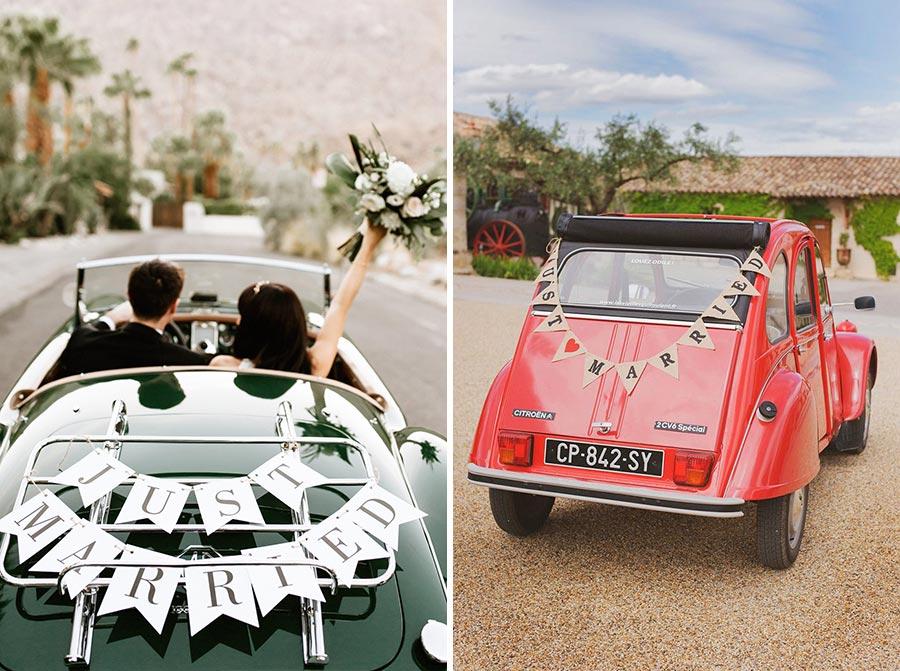 10 способов украсить машину на свадьбу своими руками 8