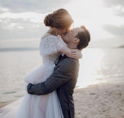 Душевная свадьба Тани и Славы на природе