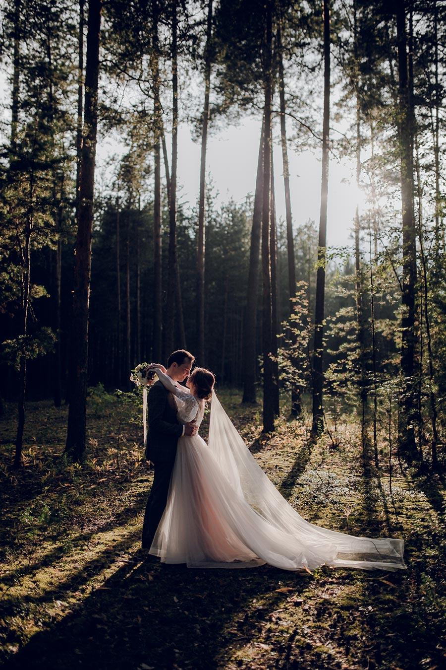 душевная свадьба тани и славы на природе 13