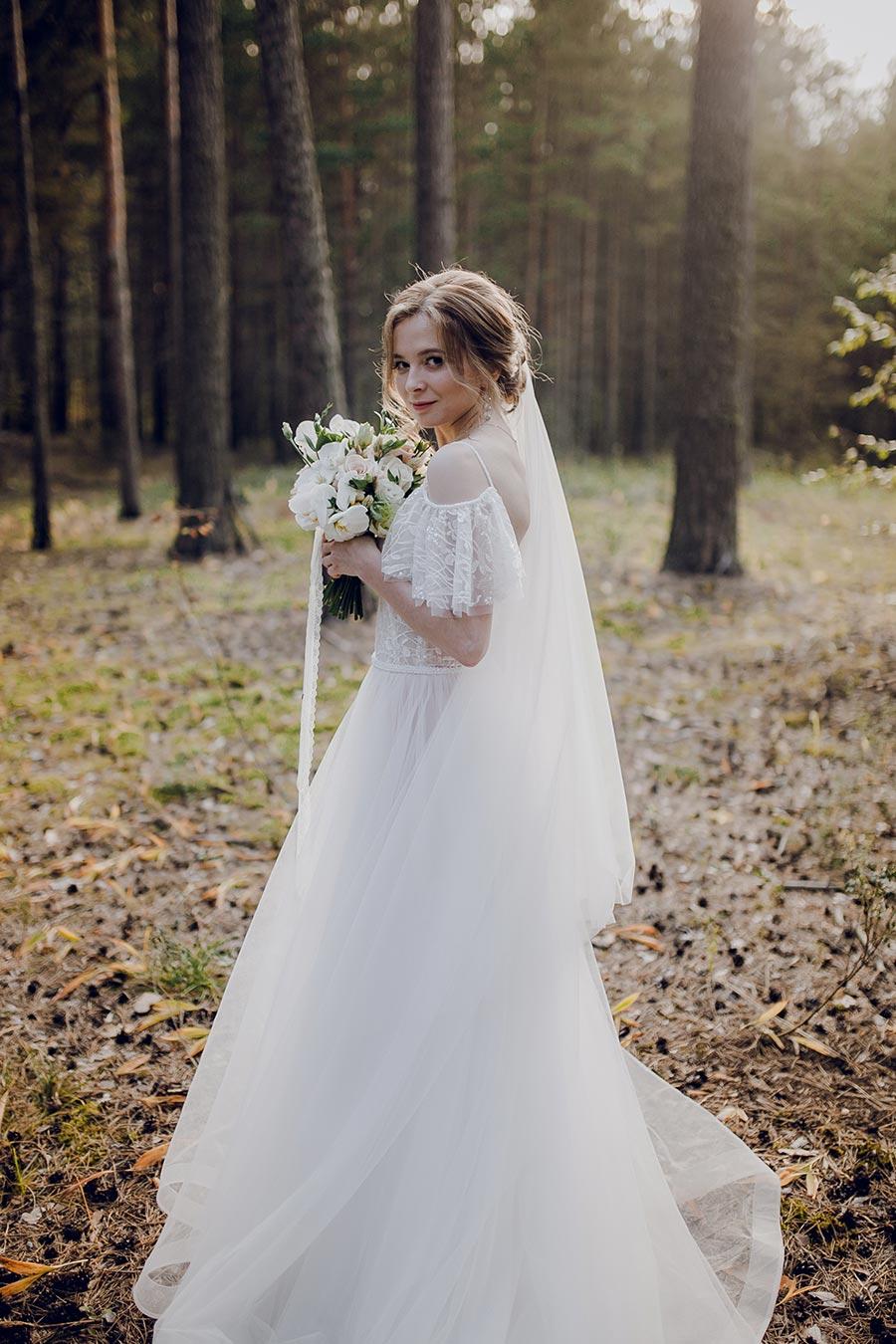 душевная свадьба тани и славы на природе 15