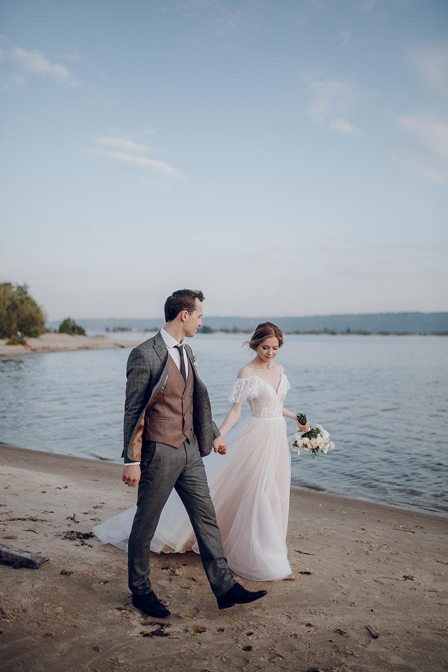 душевная свадьба тани и славы на природе 16