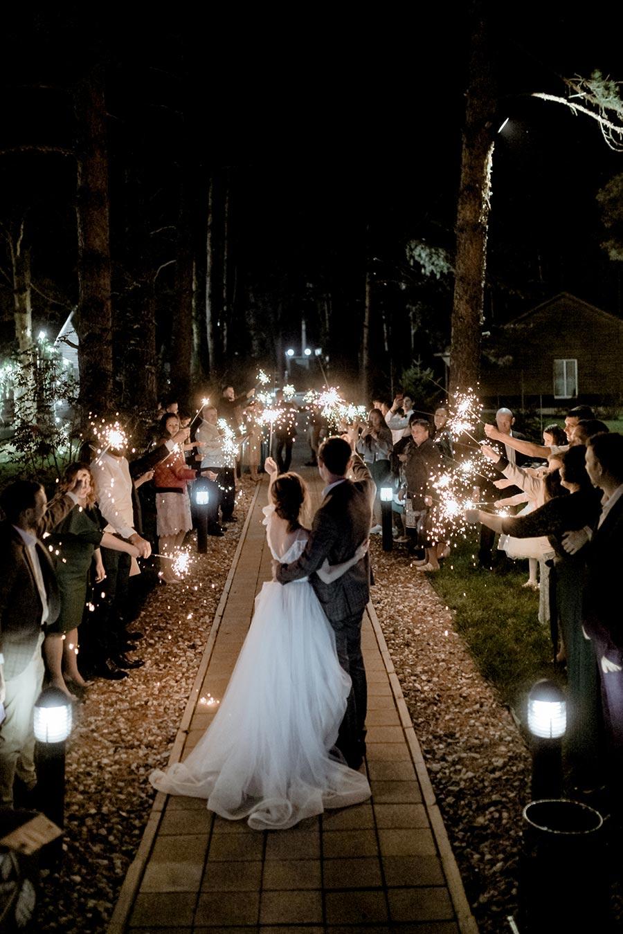душевная свадьба тани и славы на природе 18