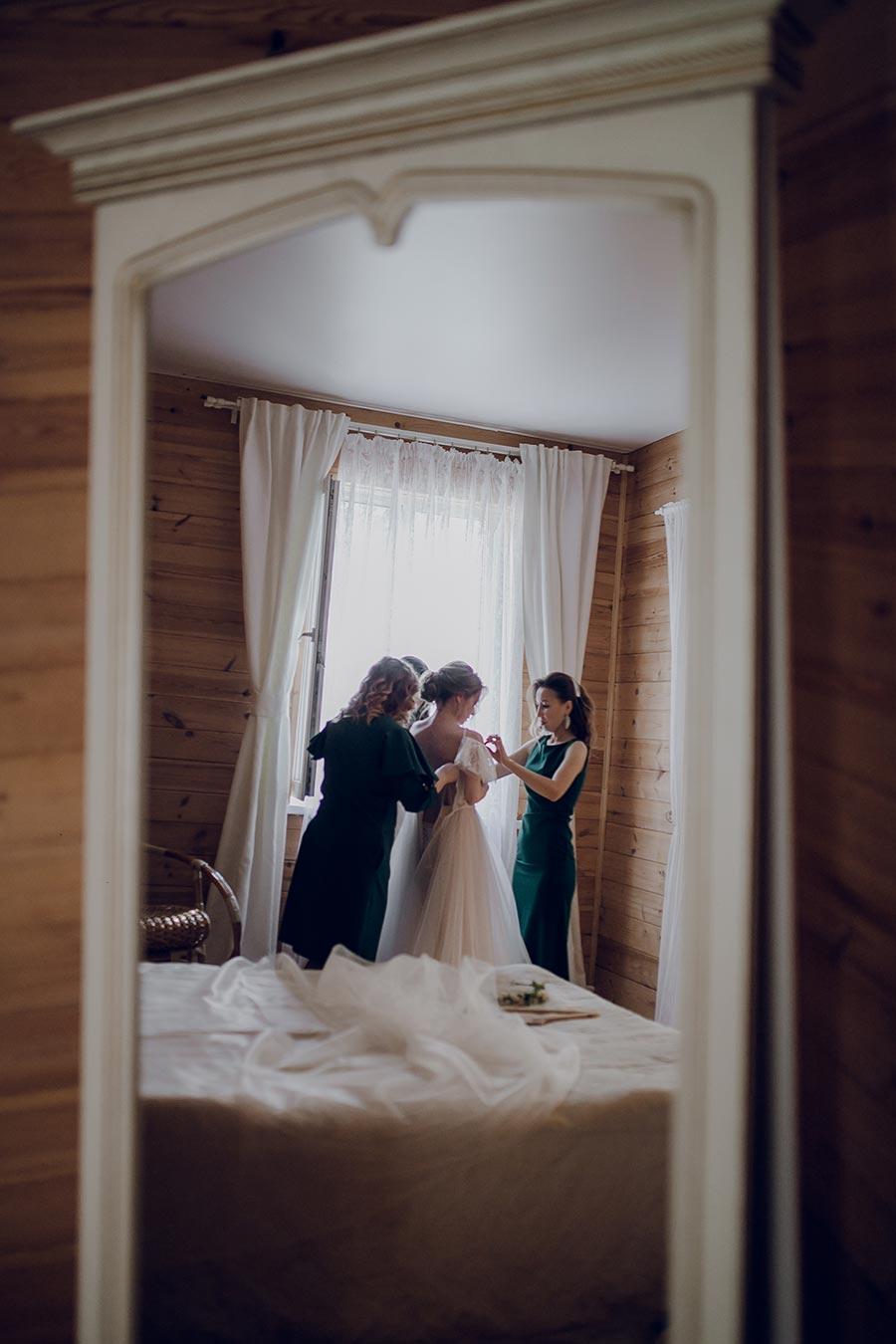 душевная свадьба тани и славы на природе 4