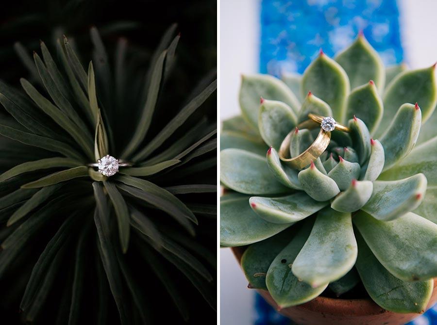 15 идей красивых фотографий обручальных колец 2