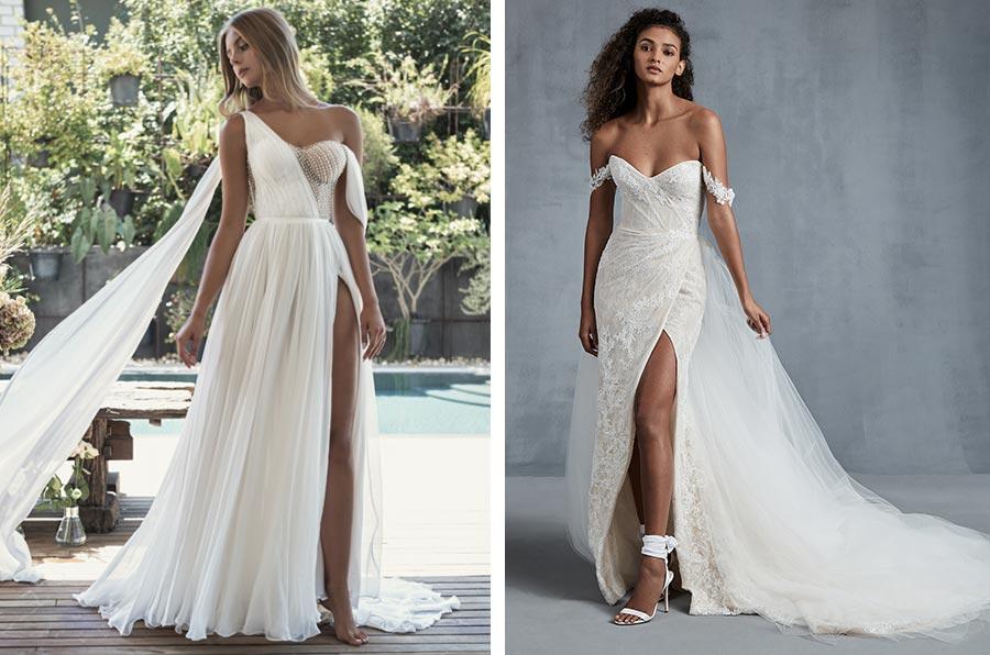 12 трендов в свадебных платьях 2021 14