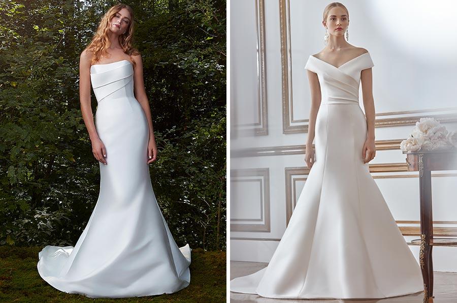 12 трендов в свадебных платьях 2021 2
