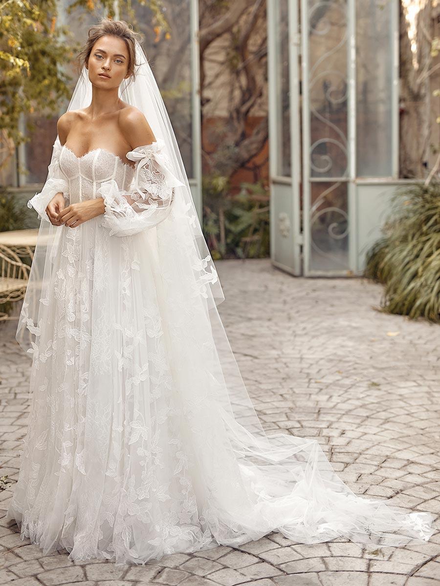 12 трендов в свадебных платьях 2021 3