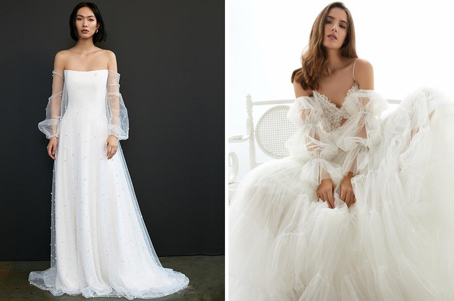 12 трендов в свадебных платьях 2021 4