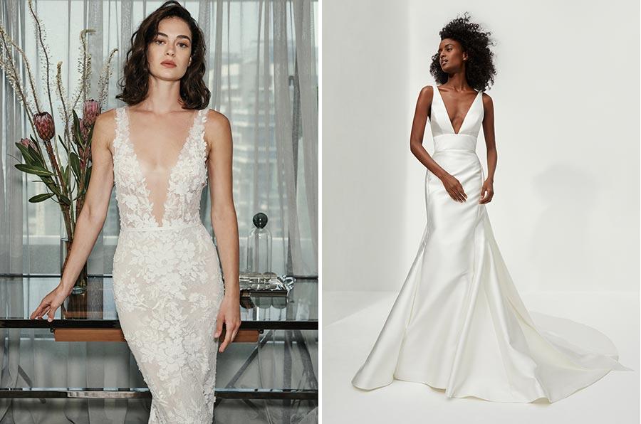 12 трендов в свадебных платьях 2021 5
