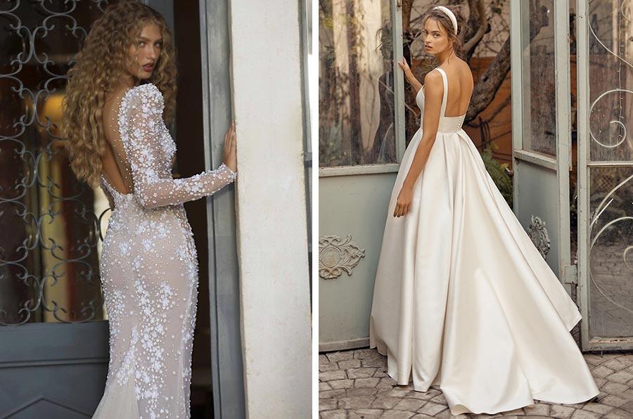 12 трендов в свадебных платьях 2021 7