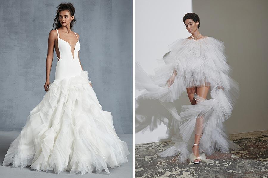 12 трендов в свадебных платьях 2021 9