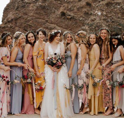 Платья подружек невесты 2021 – новые правила
