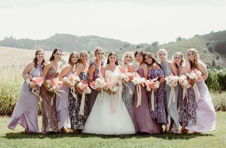 платья подружек невесты 2021 новые правила 6