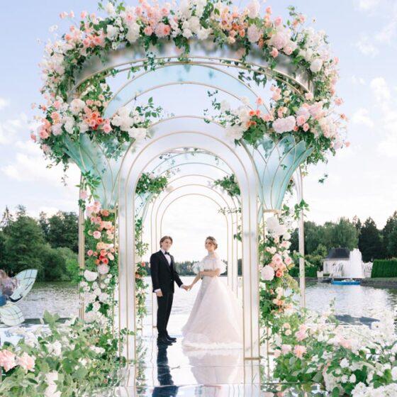 Свадьба в стиле Дисней для Оли и Миши